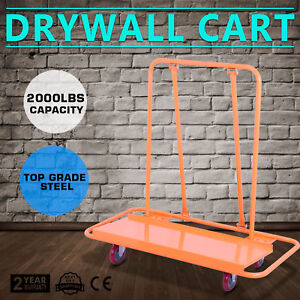 2000lbs Drywall Cart Dolly Plywood Hauling Pentagon Durable Plywood Hauling