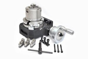 Hv4 Rotary Table With 80mm Self Centering Chuck Backplate