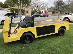 2012 Cushman Titan 410 Industrial Flatbed Electric Utility Cart