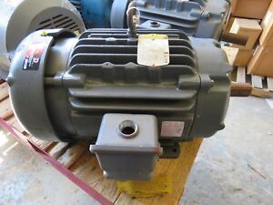 Baldor 20hp Electric Motor Ecp2334t 4 256t Fr 460v 1765 Rpm 3ph Rebuilt