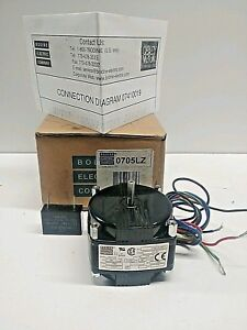 New In Box Bodine Electric 115v 1550 rpm 1 450 hp Small Gear Motor Kci 23