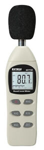 Extech 407730 nist Nist Certificate Digital Sound Level Meter