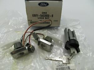 New Oem Ignition Door Lock Cylinders For 85 88 Lincoln Town Car Continental