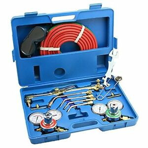Oxy Acetylene Welding Cutting Torch Kit Victor Compatible W Case