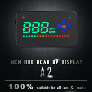 A2 3 5 A2 3 5 Gps Car Hud Head Up Display Over Speed Warn Digital Car Us A3m2c