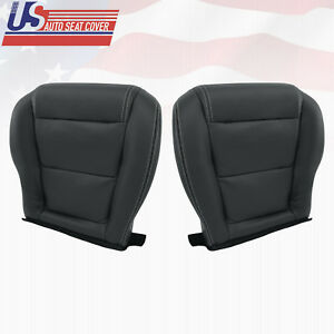Fits 2001 2006 Acura Mdx Driver Passenger Bottom Perforated Leather Seat Cover