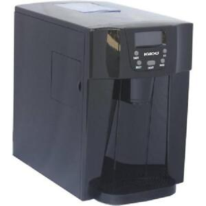 Ice And Water Dispenser Countertop Portable Lcd Display For Kitchen Office Black