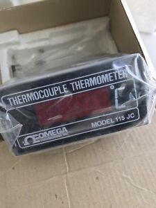 Omega 115jc Thermocouple Digital Thermometer