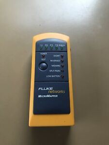 Fluke Networks Mt 8200 49a Cable Tester