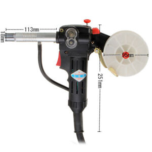 Cable Gun New Pull Welding Aluminum Spool Torch Nbc 200a Miller Durable Feeder
