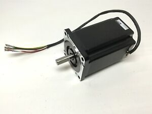 Parker Compumotor Lv343 01 fl Stepper Motor Nema 34 80vdc Single Shaft 1 2