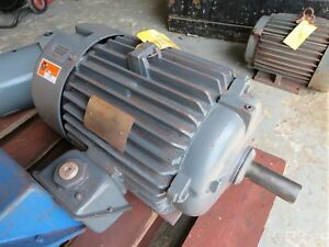 Marathon 20hp Motor E206 256t 230 460v 1775 Rpm Repaired