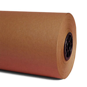 18 30 1000 Lf Brown Kraft Paper Roll Shipping Wrapping Cushioning