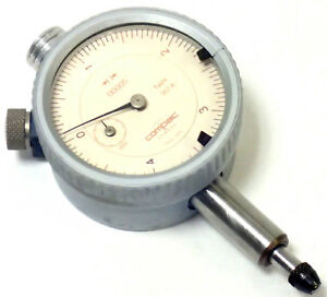 Compac Geneve Precision Dial Indicator Type 367a 00005 Swiss Made