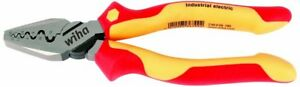 Wiha 32945 7 Inch Insulated Industrial Crimping Pliers