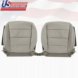 For 07 08 Acura Tl S type Driver Passenger Bottom Perforated Seat Cover taupe