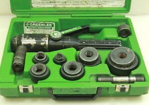 Greenlee 7804sb Quick Draw Hydraulic Punch Driver Set Free Shipping