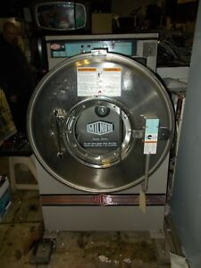 08 Milnor 60lb Commercial Washer Washing Machine