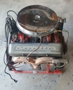 1961 Corvette Engine 283 230hp Engine Cq Code 3756519 Block 3884520 Head Oil Pan