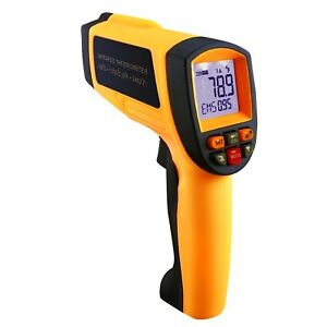 50 1 Digital Laser Thermometer Infrared Pyrometer 18 1350 c 0 4 2462 f Temp