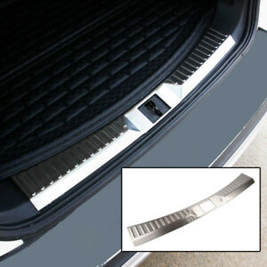 Inner Rear Trunk Panel Bumper Protector Trim Cover For Ford Escape Kuga 2013 16