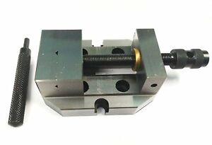 2 3 8 Inches 60 Mm Jaw Width Grinding Steel Vice hardened Ground Finish