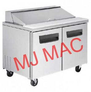New Blue Air M Blpt36 2 Door Sandwich Salad Prep Table 36 W Warranty