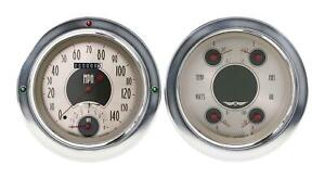 1954 1955 Chevrolet Chevy Truck Direct Fit Gauge American Nickel Ct54an62