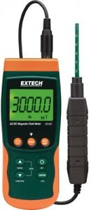 Extech Ac Dc Magnetic Meter Datalogger Device Tester Auto Off Power Data Hold