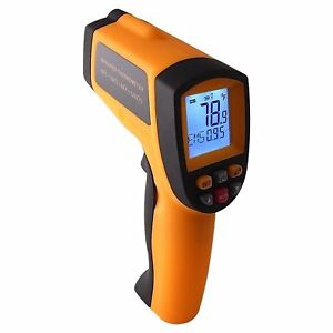 Infrared Ir Laser Thermometer 12 1 Pyrometer 50 700 c 58 1292 f Temperature