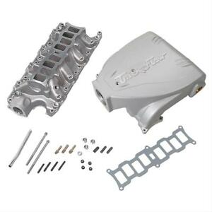 Trick Flow Intake Manifold Track Heat Aluminum Silver Multi port Ford Mustang