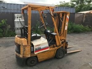 Komatsu Fg15s Propane Forklift 4420 Hrs Located Long Island New York 11735