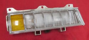 1972 Cadillac Parking Light Assembly Front 5965496 Nos Right Hand