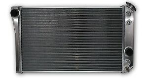 Radiator For 1984 1990 Corvette Small Block V8 Mt Or At Hpr663