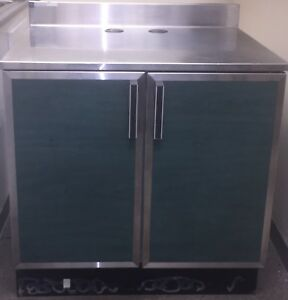 Duke 2 Door Commercial Restaurant Stainless Steel Non Refrigerated Table 36x30