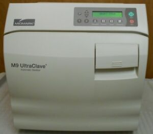 Midmark M9 020 Ultraclave W Rack Trays Only 184 Cycles