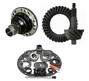 Ford 8 3 55 Motive Ring And Pinion Grip Pro Posi Master Install Gear Pkg
