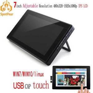Raspberaspberry Pi 7inch Lcd Touch Screen Display For Computer Mini Pc