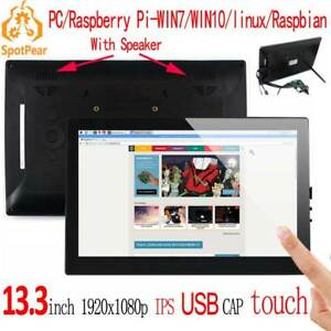 Raspberry Pi 13 3inch Lcd Touch Screen Display For Computer Mini Pc