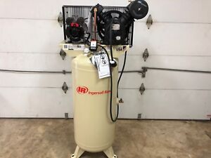 Ingersoll Rand 60 Gallon Stationary Electric Air Compressor 5 Hp 230 1 60 2340l5