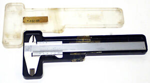 Mauser T851 33 G668 Stainless Steel 6 Vernier Caliper W Case Working