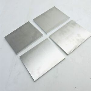 25 Thick 1 4 Aluminum 6061 Plate 9 625 X 9 625 Long Qty 4 Sku 122287