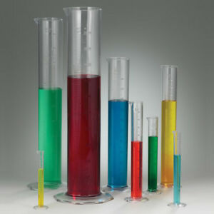 2000ml Clear Pmp Graduated Cylinder 3 4 Od 3 2 Id X 20 H