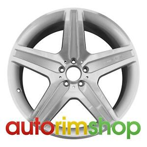 Mercedes Gl350 21 Factory Oem Amg Wheel Rim Machined With Silver