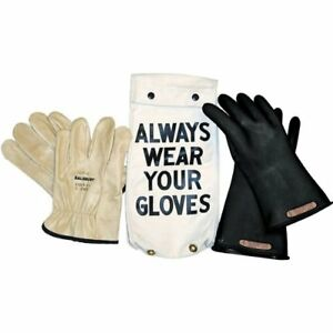 Salisbury Gk011b9 Insulated Glove Kit Class 0 Black 11 l Size 9 One Pair