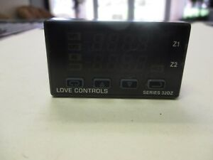 Love Controls 32dz5533 992 Used Temperature Process Controller