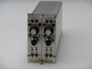Vishay Measurement Groups 2120 Strain Gage Conditioner Module Impedance