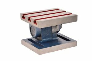 Tilting Table 8 X 10 For Milling Machines manufactured From High Grade Casting