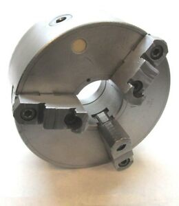 Bison 10 Three jaw Lathe Chuck W D1 6 Mount