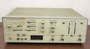 Hp 8015a 50 Mhz Dual output Pulse Generator Opt No 02
